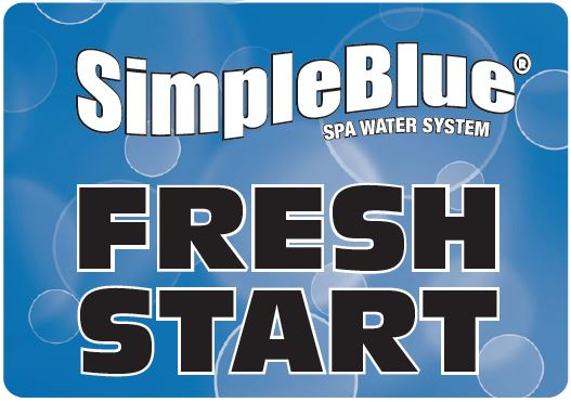 Simple Blue Fresh Starter Logo
