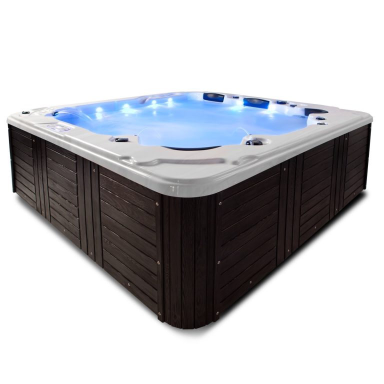 hot tub with white background