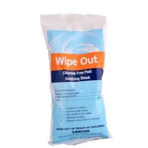 wipe out non-chlorine shock