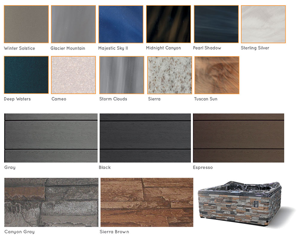 mira platinum color and skirting options