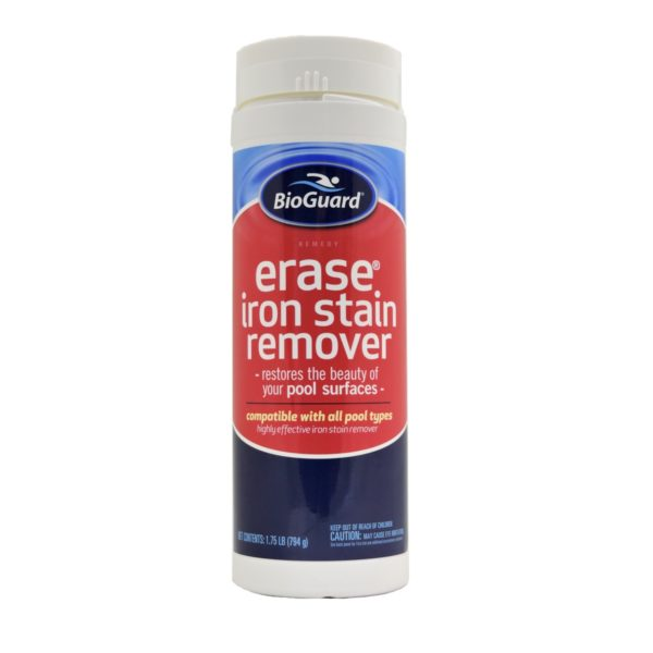 bioguard erase iron stain remover front view