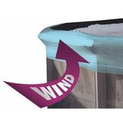 how winter cover saver stops wind