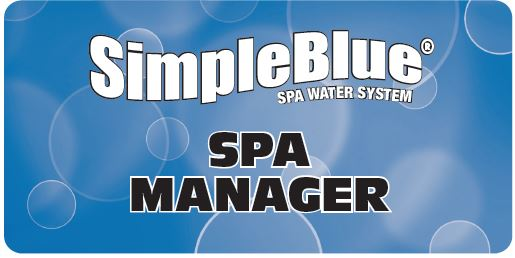 Simple Blue Spa Manager Logo